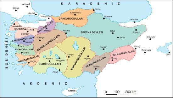 anadolu-beylikleri-haritası